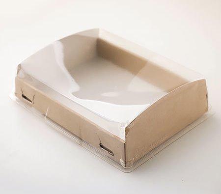 Короб с прозрачной крышкой