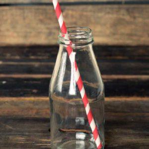 Бумажные трубочки для бутылки 6*240 мм