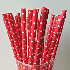 Классические бумажные трубочки 6*200 мм