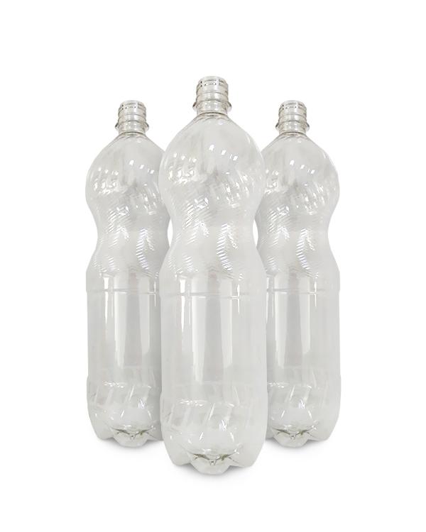 Пластиковая бутылка с узким горлом 1.5 л